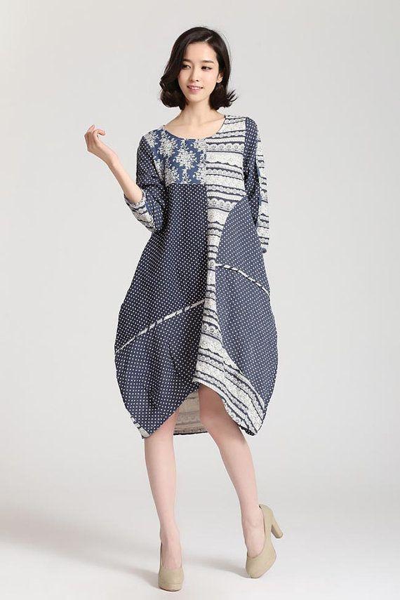 Womens plus size cotton clothing
