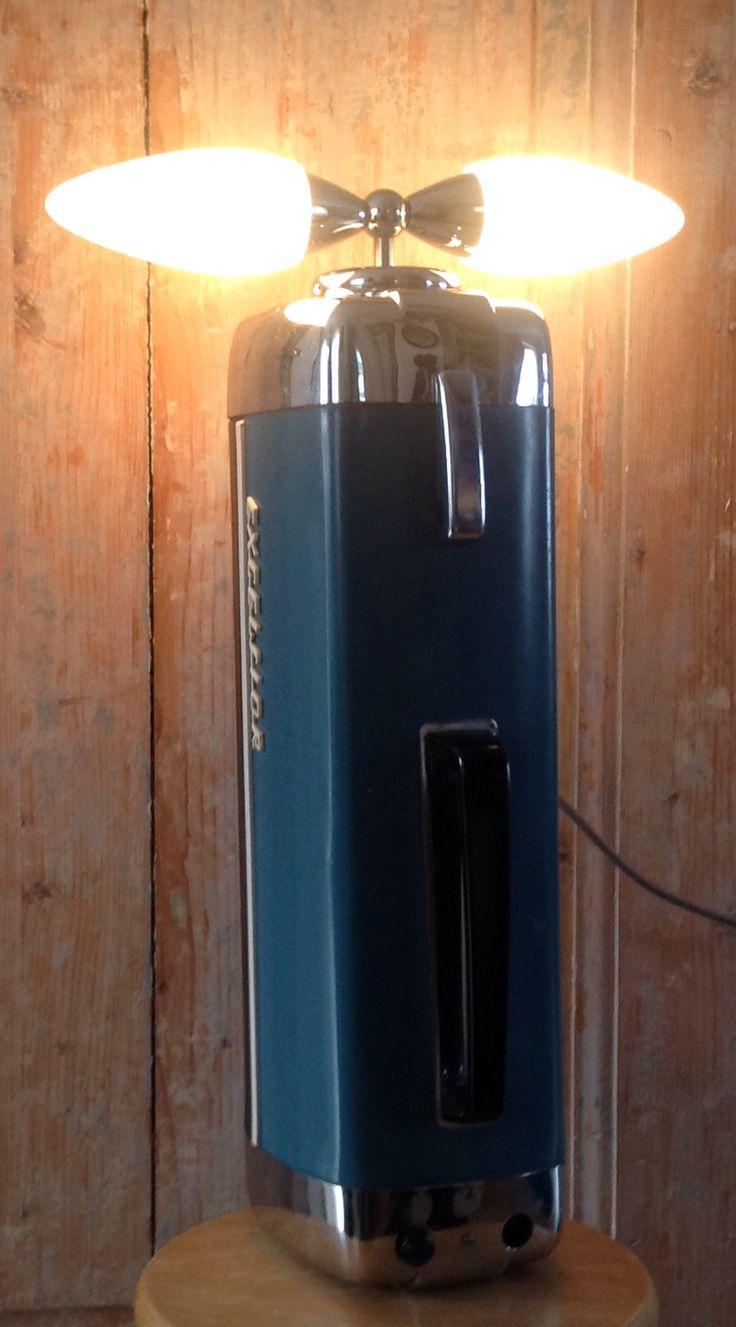 Excelsior stofzuiger Vintage lamp