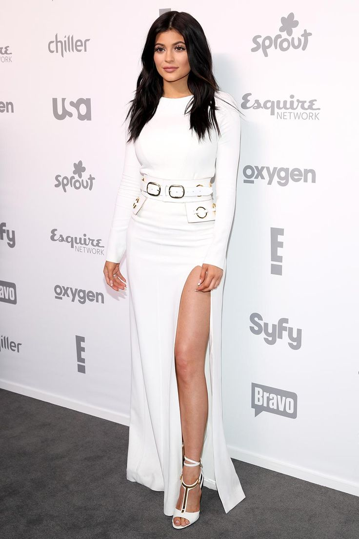 kylie jenner white dress - Google Search