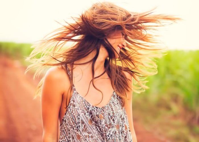 Восстановление волос после активного солнца