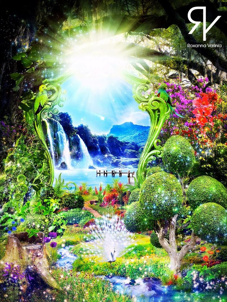 • Healing Garden • #soulart #soul #soulcollage #spiritualart #spiritual #spirituality #spiritueel #digitalart #digitalartist #digitalartwork #collageart #collageartist #photoshop #photoshopart #garden #fantasy #fairytale #dream #dreamy #dreamworld #magical #magic #waterfall #flowers #nature #animals #butterfly #green #healinggarden #garden