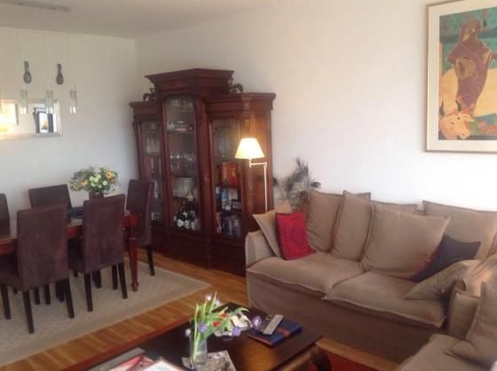 Beautiful apartment near the UN immediately ava... : A beautiful, sunny and centrally located apartment composed of a large living room with balcony facing beautiful park accessible for the residents (garden) and fountain of Lake Geneva equipped with...