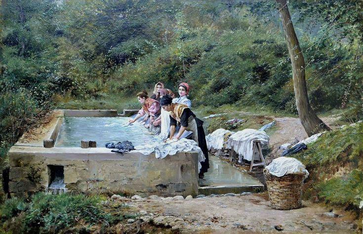Santiago Arcos Washing Day