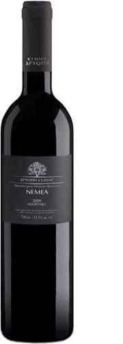 Nemea - Driopi Classic  Origin - Type: Dry red wine - Protected Designation of Origin Nemea  Grape Variety: 100% Agiorgitiko - Our price, DKK 135 (incl. moms)
