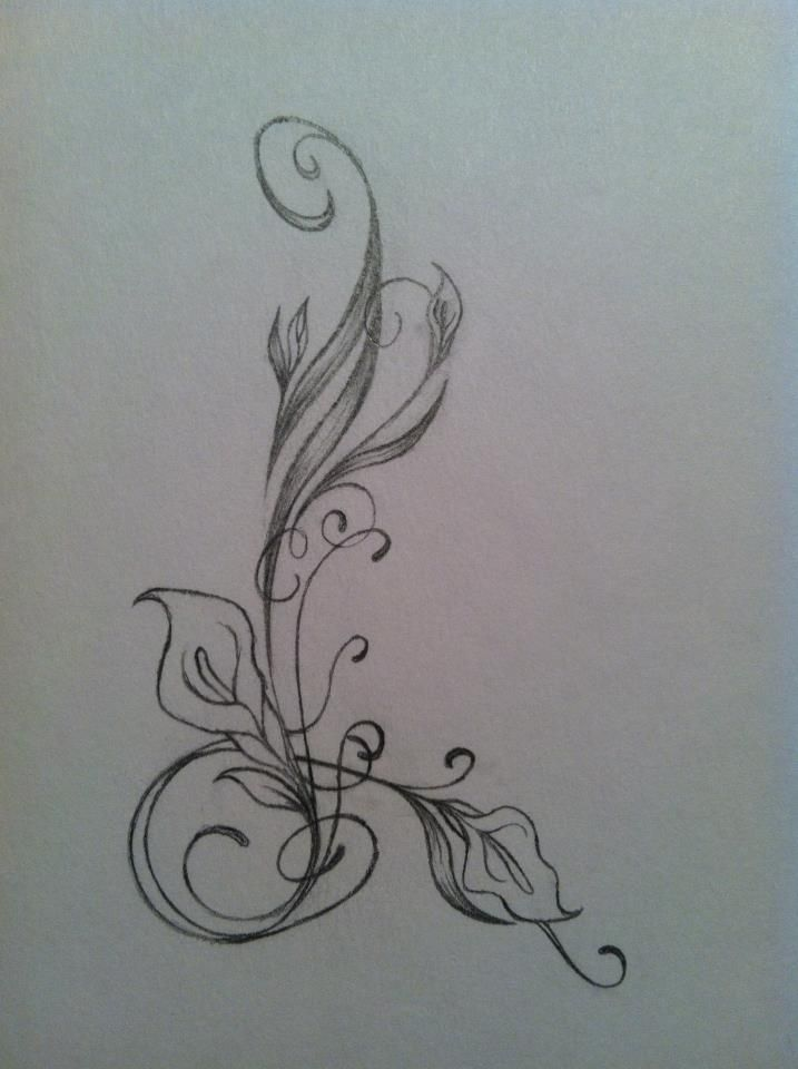 calla lily tattoos   on deviantart tattoo cala lilz eu tattoo de calla lily ...