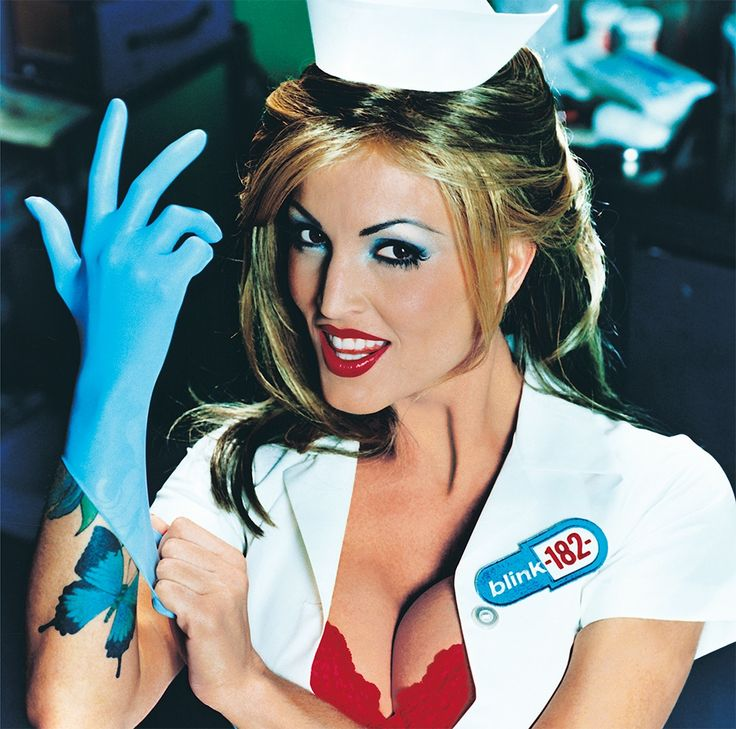 Blink 182 - Enema of the State LP Translucent Blue