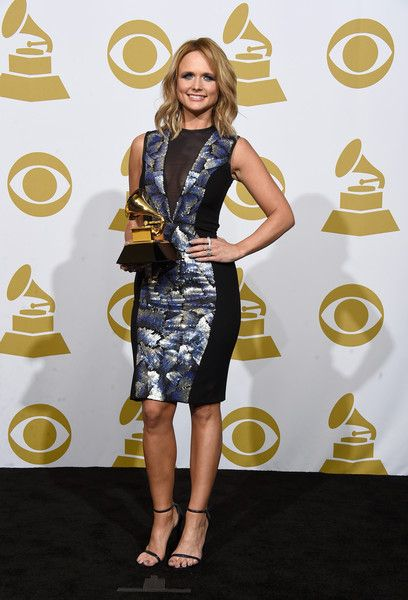 Miranda Lambert Photos Photos - Singer-songwriter Miranda Lambert, winner of Best Country Album for 'Platinum,' poses in the press room during The 57th Annual GRAMMY Awards at the STAPLES Center on February 8, 2015 in Los Angeles, California. - 57th GRAMMY Awards - Press Room