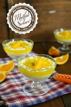 Portakallı İrmik Tatlısı Tarifi | Mutfak Sırları
