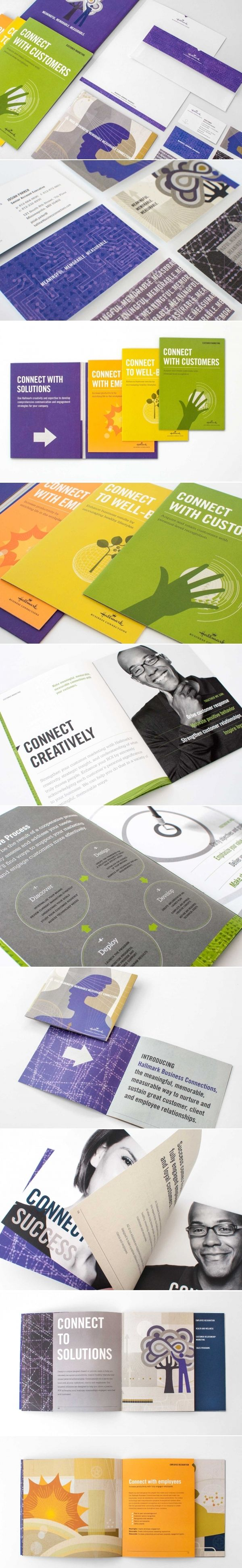 Hallmark Business Connections | Art Direction, Branding, Business Collateral, Copywriting, Design, Marketing Materials, Trade Show | Design Ranch