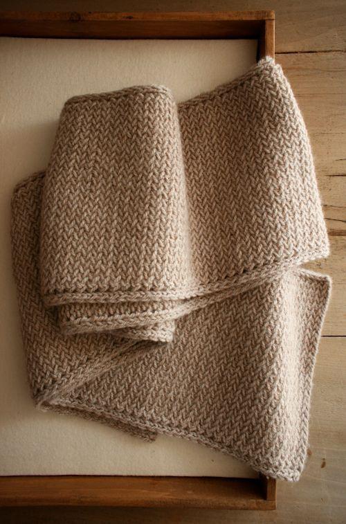 Lifeline Knitting Purl : Laura s loop men mini herringbone scarf purl soho