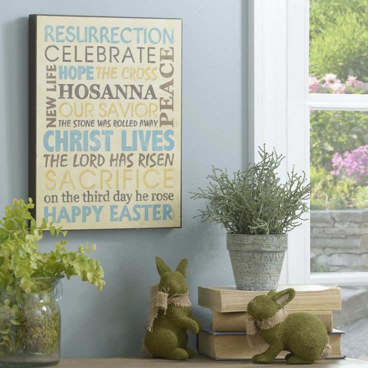 Celebrate the sacrifice and triumph of Easter with The Lord Has Risen Wooden Sign!