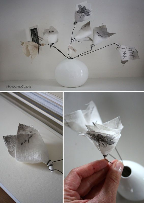 by Marjorie Colas ©: Paper, On, Diy Refashion, Magic Paper