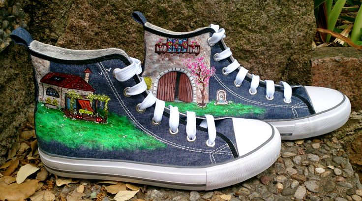 Zapatillas pintadas a mano: Rêves deviennent réalité