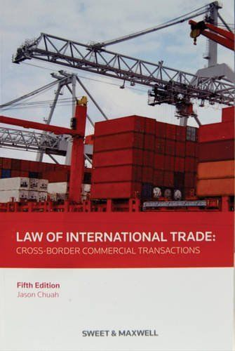 Law of International Trade by Jason Chuah (Paperback, 2013) New Book