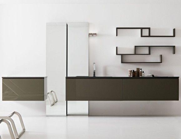 Giunone Edone Crio Vanity GIU250 Modular Italian Vanities in Lacquer