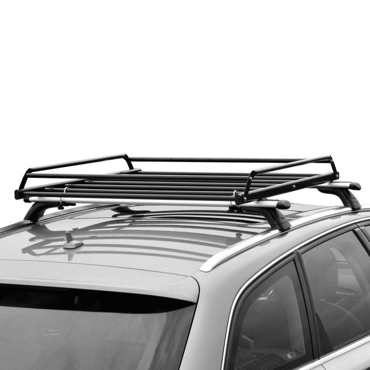 Basic Car Roof tray platform rack carry box luggage carrier basket in Vehicle Parts & Accessories, Car, Truck Parts, Exterior | eBay