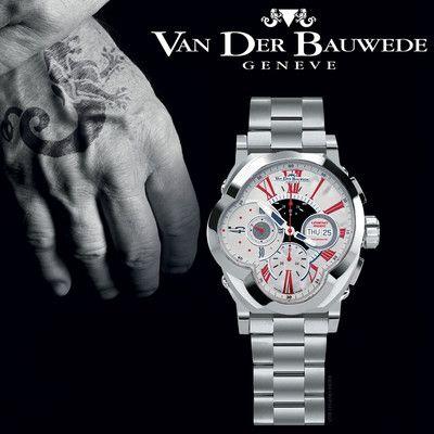 Legend Rider 13408 luxury men's Swiss watch by Van der Bauwede - Monte Cristo