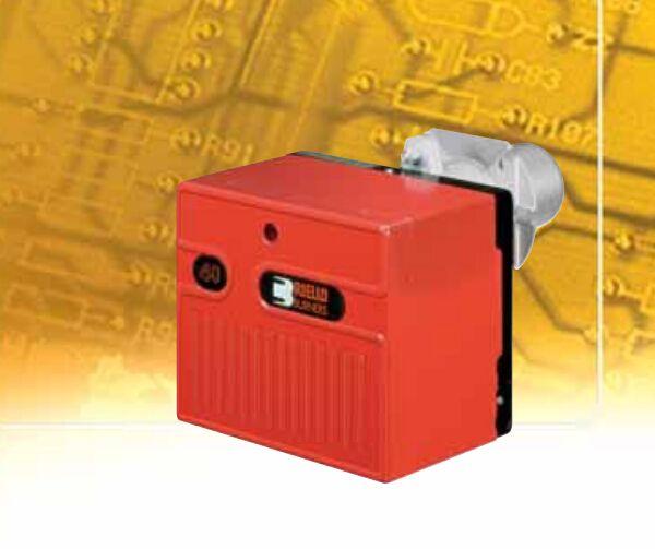 40 FS 10 RIELLO Satu tahap operasi industri gas burner dengan MVDLE205/5 katup Asli Baru