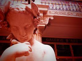 Passage Pommeraye Detalle de mi viaje en Nantes, Francia