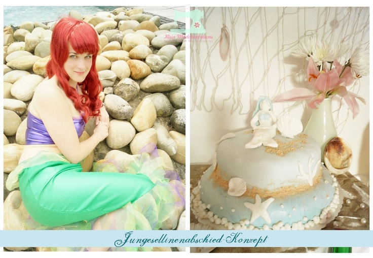 "Bachelorette Party ""Little Mermaid""    http://neu.kleinmaedchentraeume.de/wp-content/uploads/2012/06/Vorgeschmak-JGA-Konzept.jpg"
