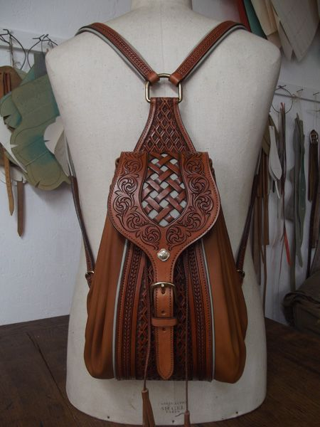 Maroquinerie - Sac - Porte documents....Beautiful and handmade in France.  A girl can dream...