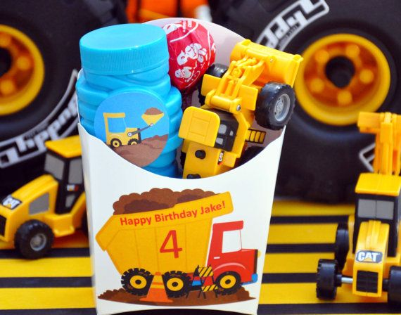 Hey, I found this really awesome Etsy listing at https://www.etsy.com/listing/94630676/construction-party-favors-truck-party