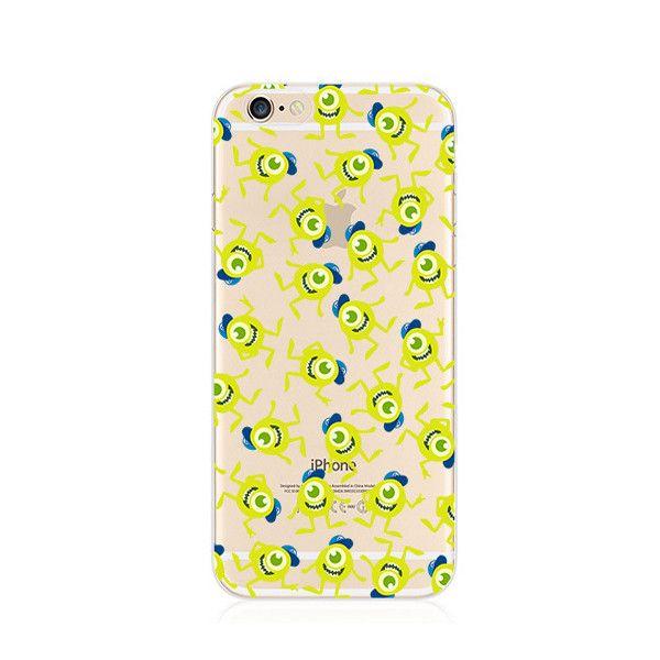 Michael Wazowski Monsters University Blue Cap iPhone 6s 6 Plus SE 5s 5 Soft Clear Case