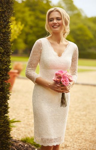 X Small Wedding Dresses : Lace dress wedding shorts short dresses bride