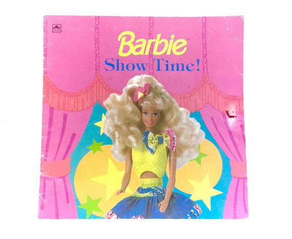 Barbie book cabbage doll troll vintage amusing information