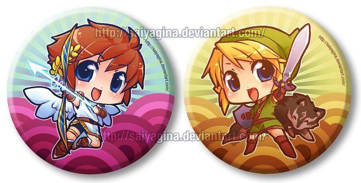 I Did These Two Button Designs For A M
