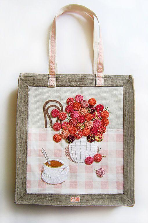 Yo-yo flower bouquet