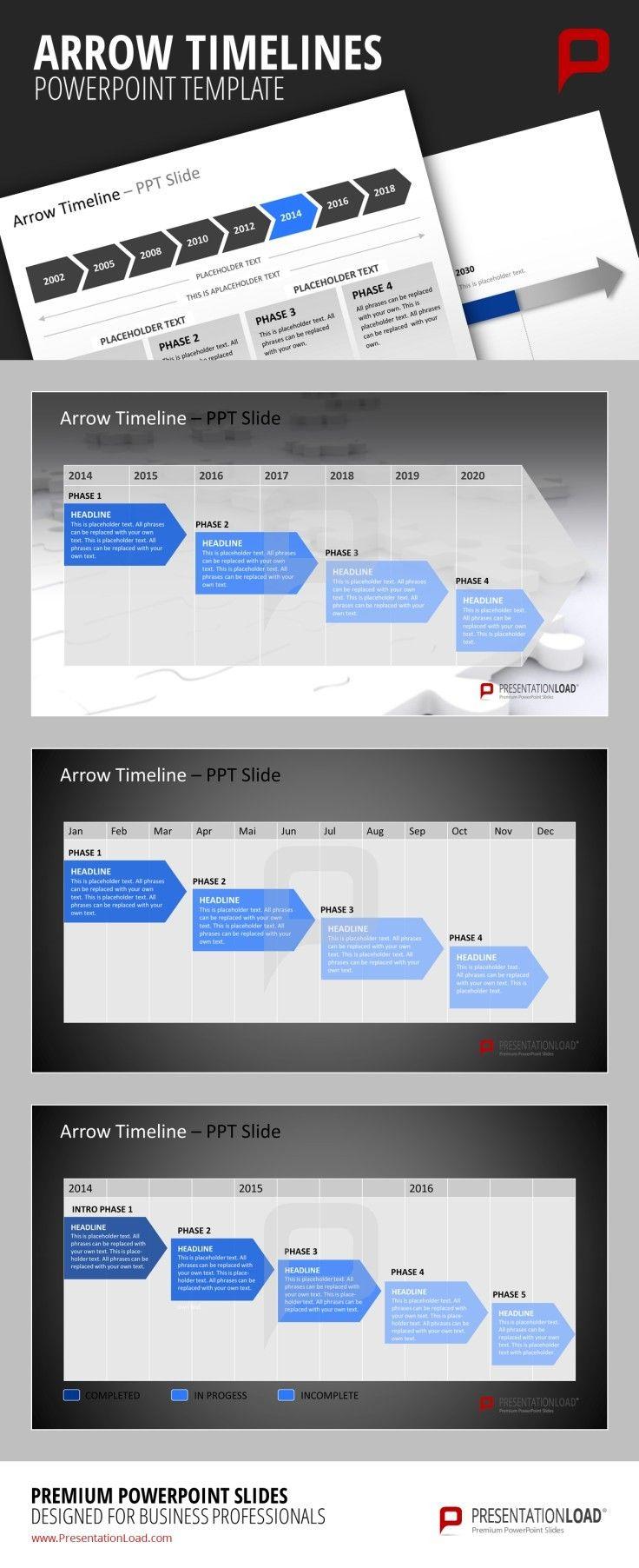 Popular PowerPoint Zeitstrahl als Vorlage http presentationload de powerpoint
