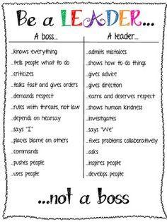 How do you lead your studio? http://danceexec.com/boss-vs-leader/
