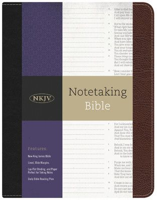 The NKJV Journaling Bible is designed to enhance personal Bible study as well as preparation for teaching and preaching. The Bible features the popular NEW King James Version in a single-column settin