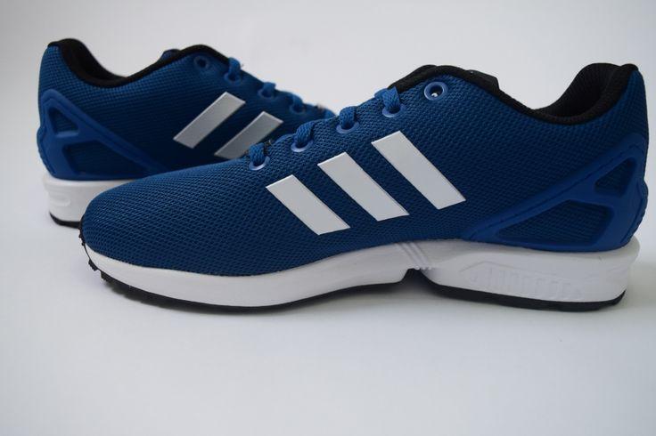 Blue+adidas+ZX+Flux