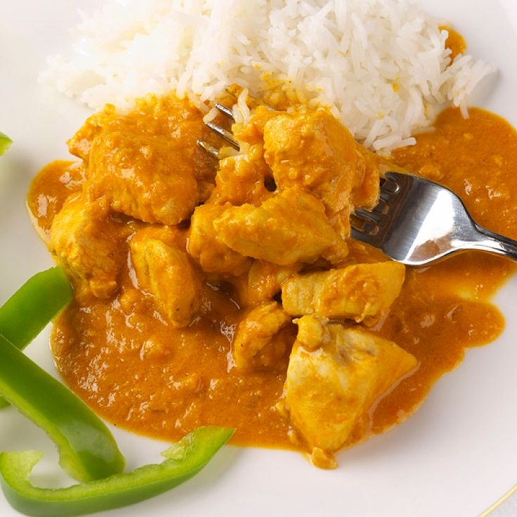 This peanut curry chicken is so tasty and is really easy to make.   Curry always goes perfectly with rice.