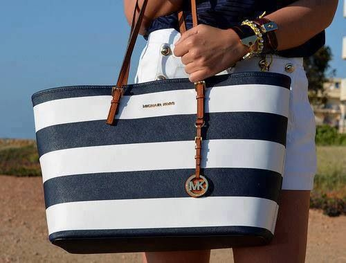 Nautical Michael Kors Bag Love Live This I Always Some Mk But Is Florida Style Written All Over It