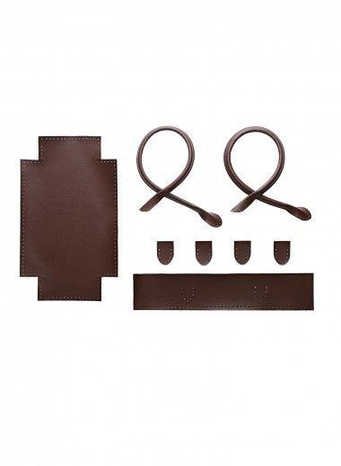 Formes pour cabas en simili cuir marron, Bergère de France Accessoires, broderie & tricot Achat en ligne