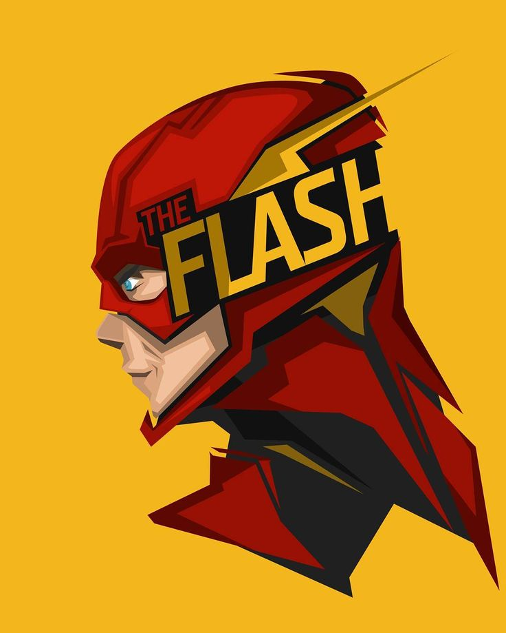 The-Flash by porojj. #blackandred #artwork #theflash http://www ...
