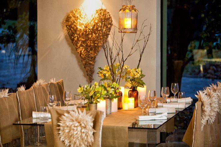 Rustic and elegant wedding theme
