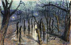 Chochoły (Planty nocą) – Wikipedia, wolna encyklopedia