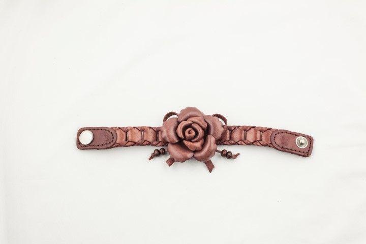 Plaited bracelet Camelia Toffee - EmKha