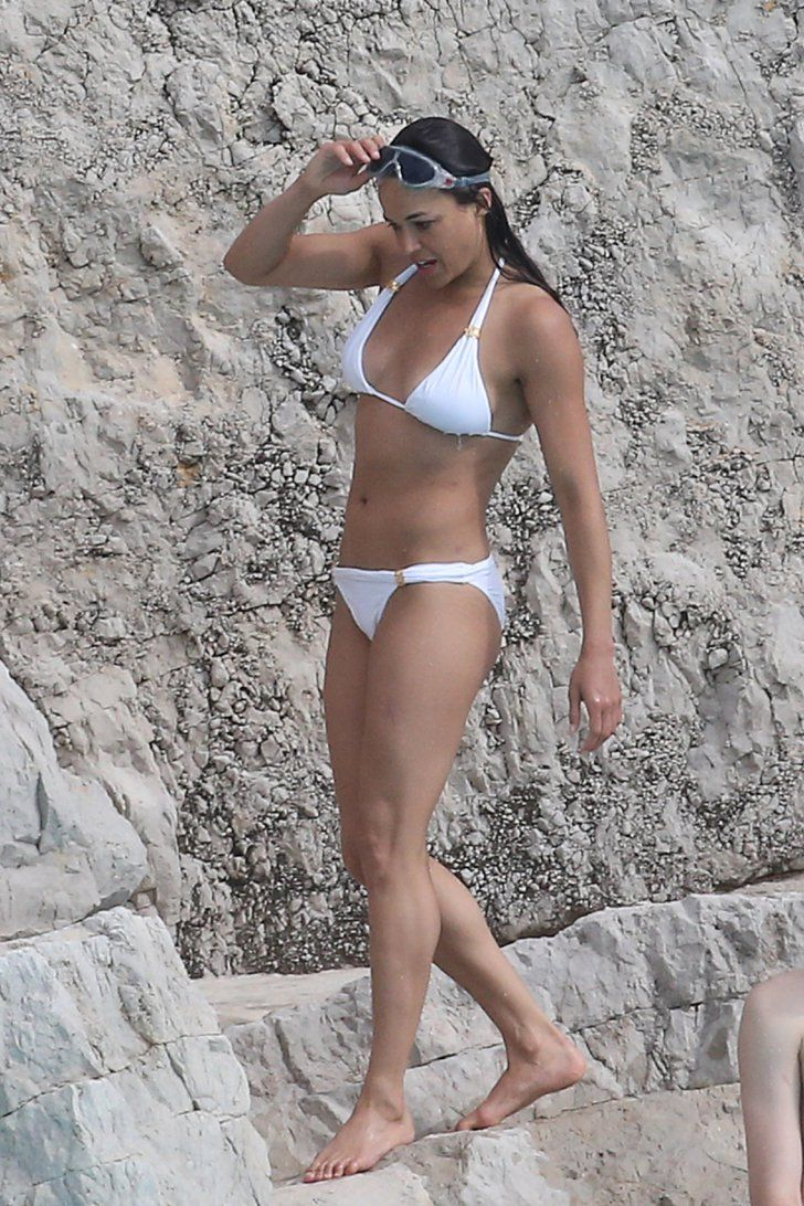 Pin for Later: The Ultimate Celebrity Bikini Gallery  Michelle Rodriguez proved she still had a rockin' bikini body while she was in France for May 2015's Cannes Film Festival.