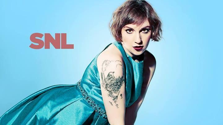 Lena Dunham #SNL