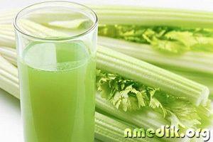 Сок сельдерея - состав и полезные свойства