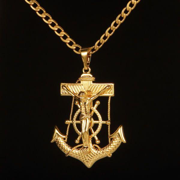 Goldkette mit kreuz 585  Die besten 25+ Goldkette herren Ideen auf Pinterest | Herren ...