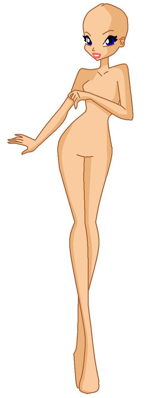 рисунки тела винкс