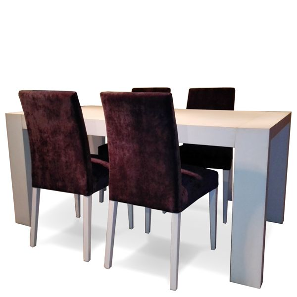 Mesa comedor extensible + 4 sillas en Outlet Betty&Co | Outlet ...