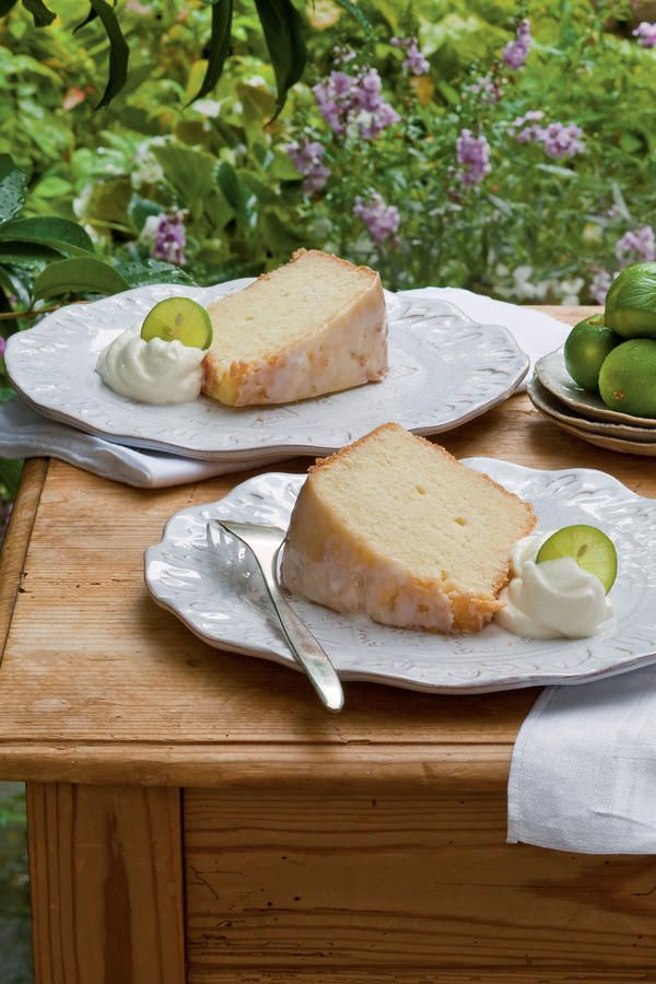 We've all tasted Key lime pie, but a Key Lime Pound Cake? Why not! The lime zest adds a nice tartness to any pie or cake.Recipe: Key Lime Pound Cake