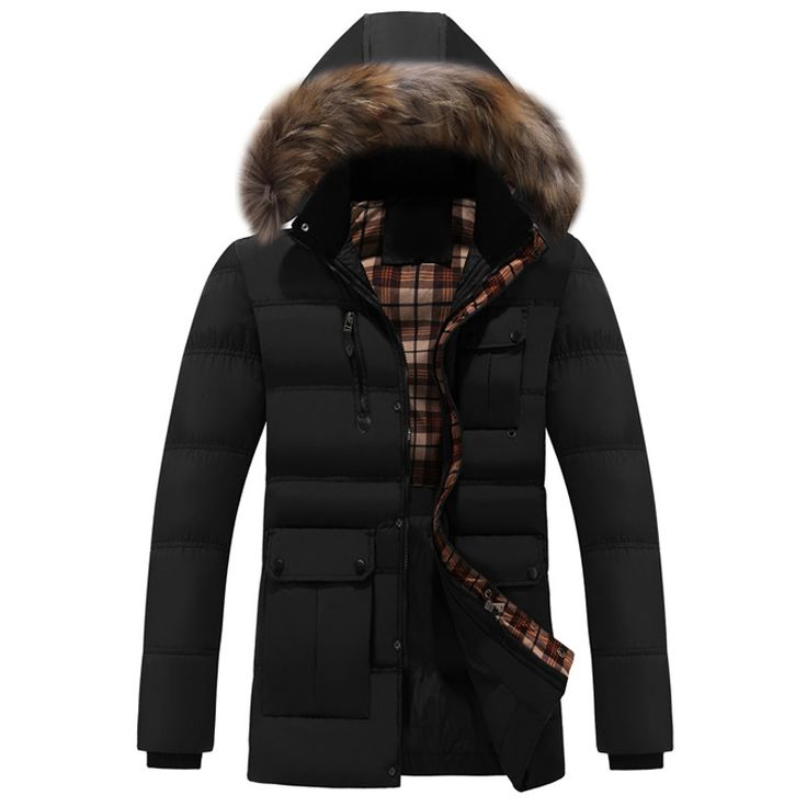 46.23$  Know more - http://aim5i.worlditems.win/all/product.php?id=32768749842 - Medium Long Thick Warm Heren Jassen Winter Casual Hooded Parkas Hombre Invierno